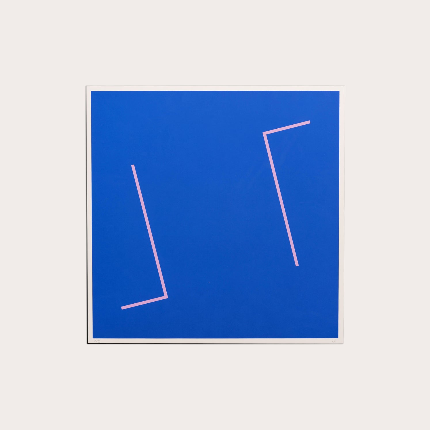Untitled  (Blue), 1975 Prints Maximilian Weishaupt Designer Furniture Sku: 040-270-10008