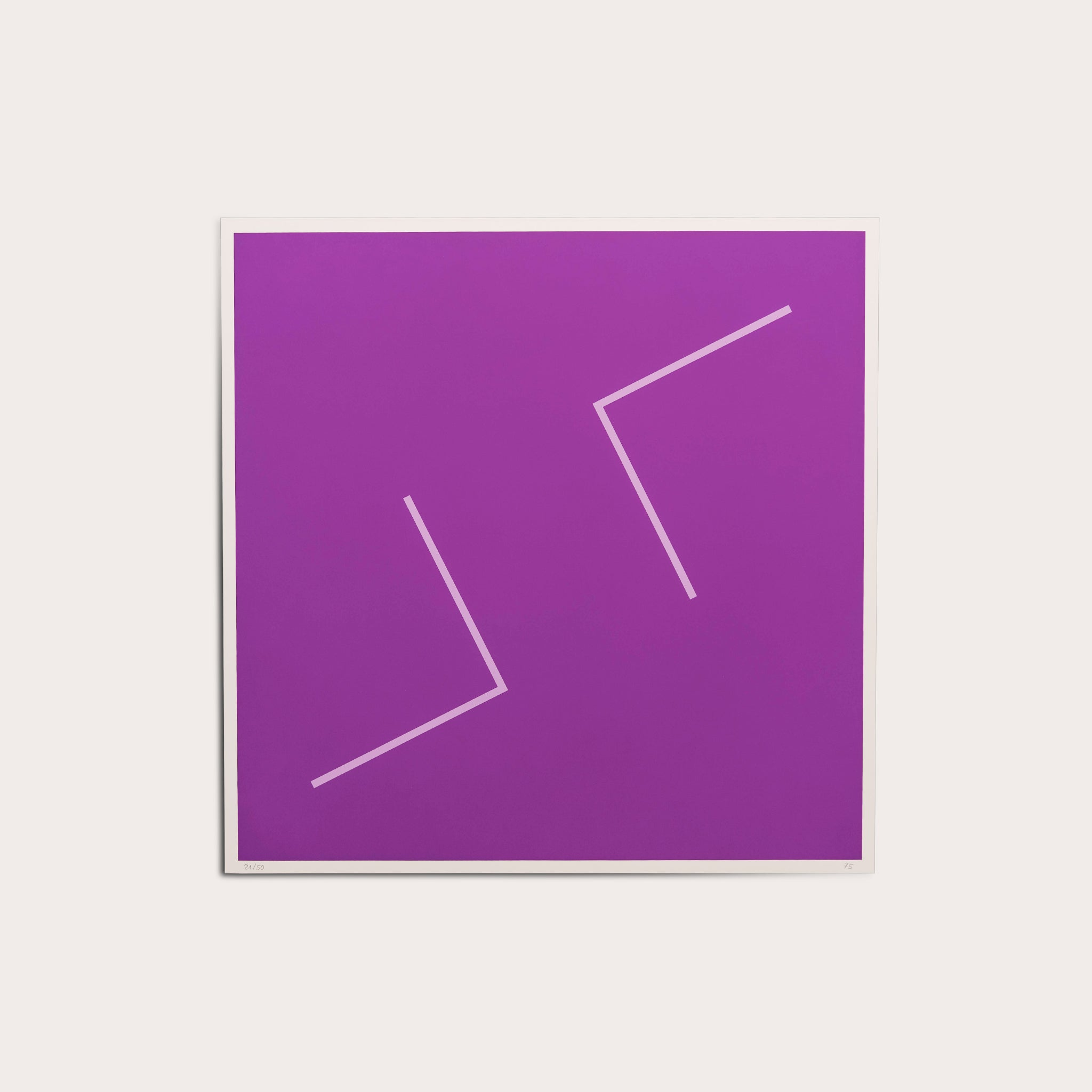 Untitled (Violet), 1975 Prints Maximilian Weishaupt Designer Furniture Sku: 040-270-10009