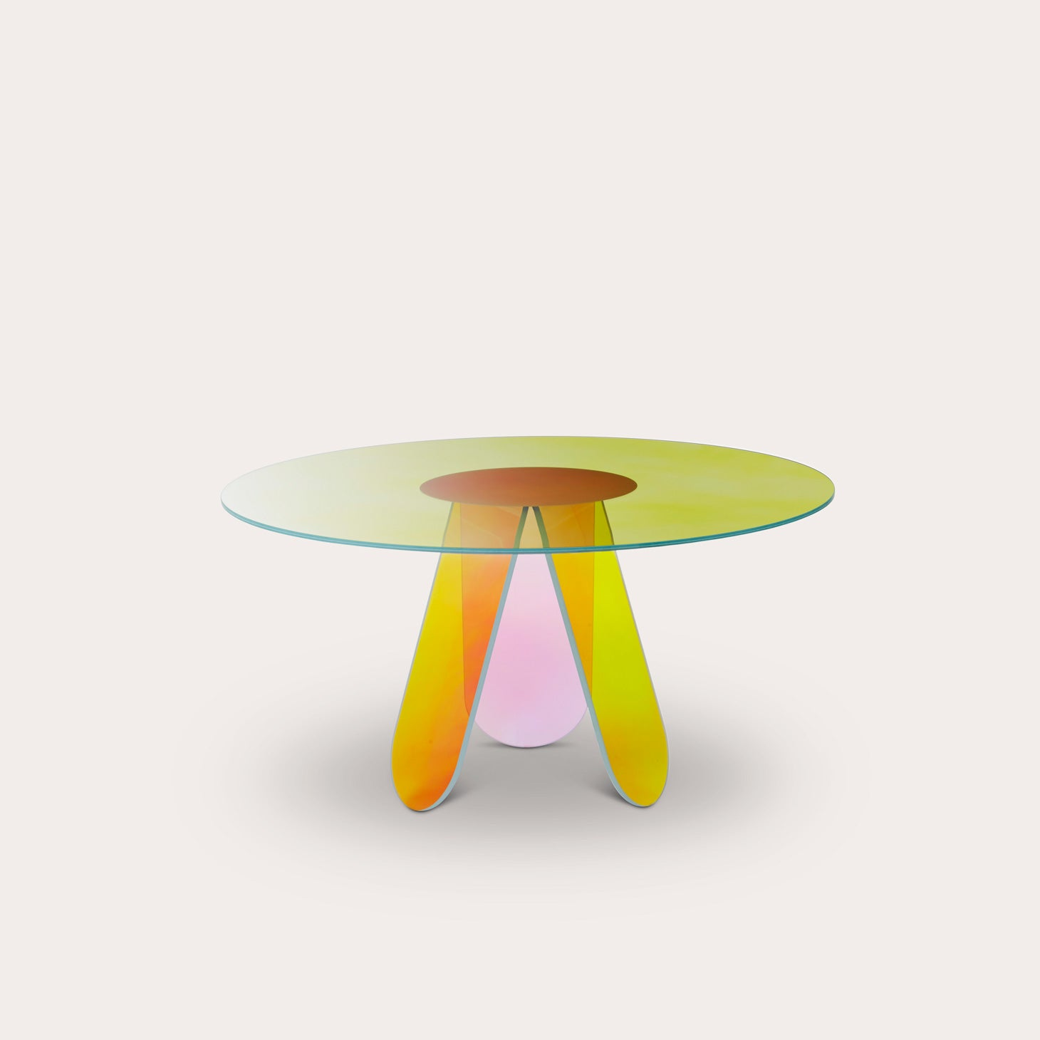 Shimmer Round Dining Table Tables Patricia Urquiola Designer Furniture Sku: 288-230-10266