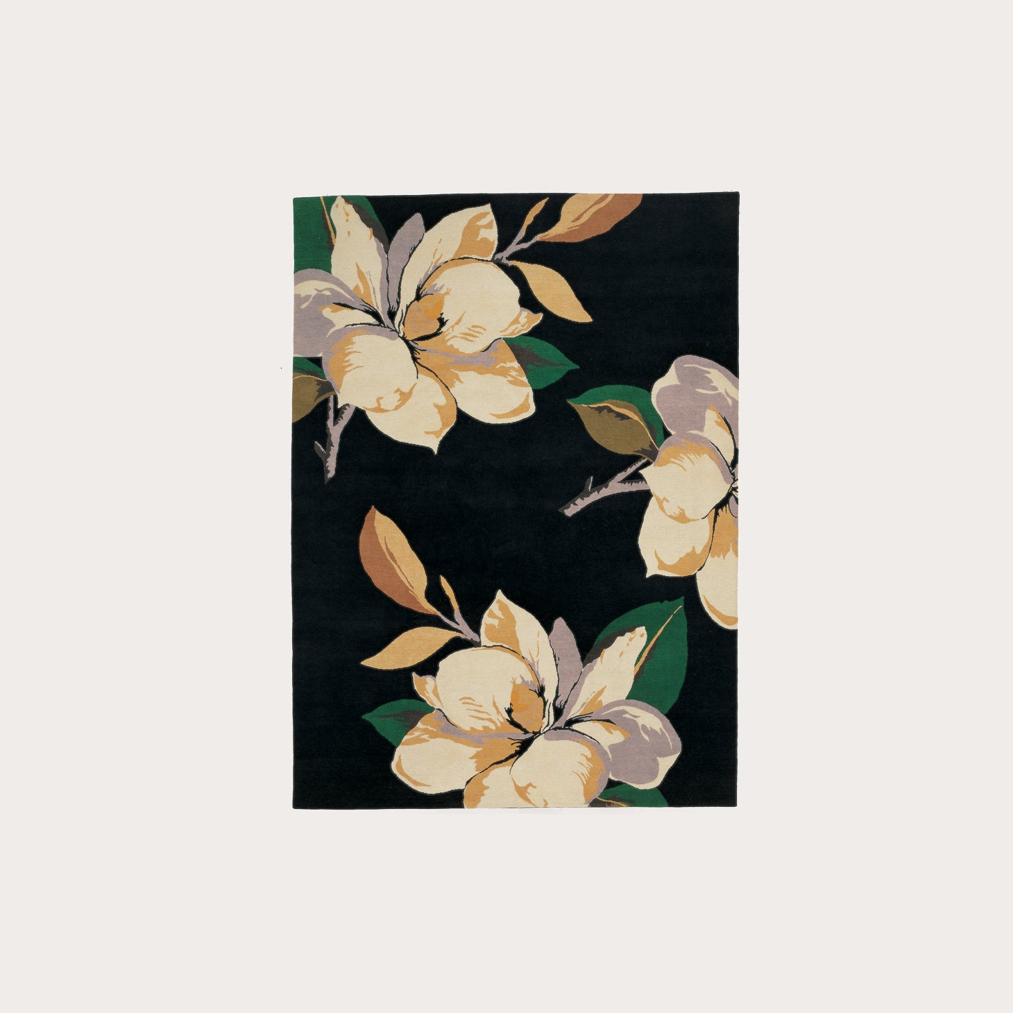 Magnolia Black Floor Coverings Vivienne Westwood Designer Furniture Sku: 391-150-10088