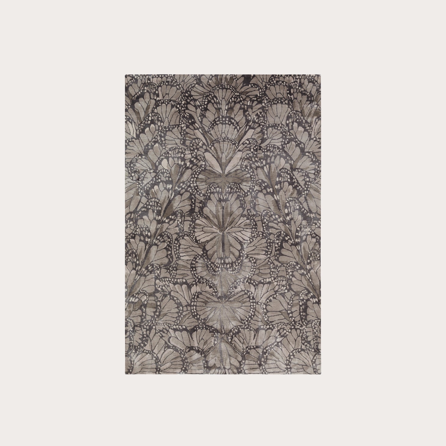 Monarch Smoke Floor Coverings Alexander McQueen Designer Furniture Sku: 391-150-10512