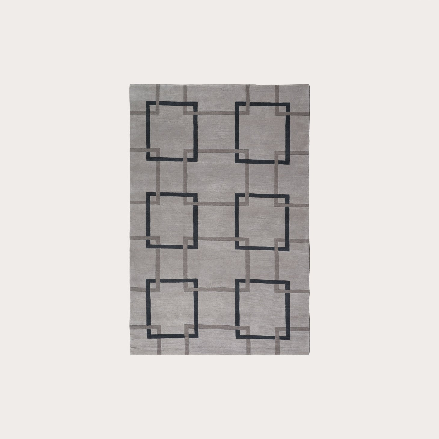 Square Chains Lead Floor Coverings The Rug Company Designer Furniture Sku: 391-150-10619
