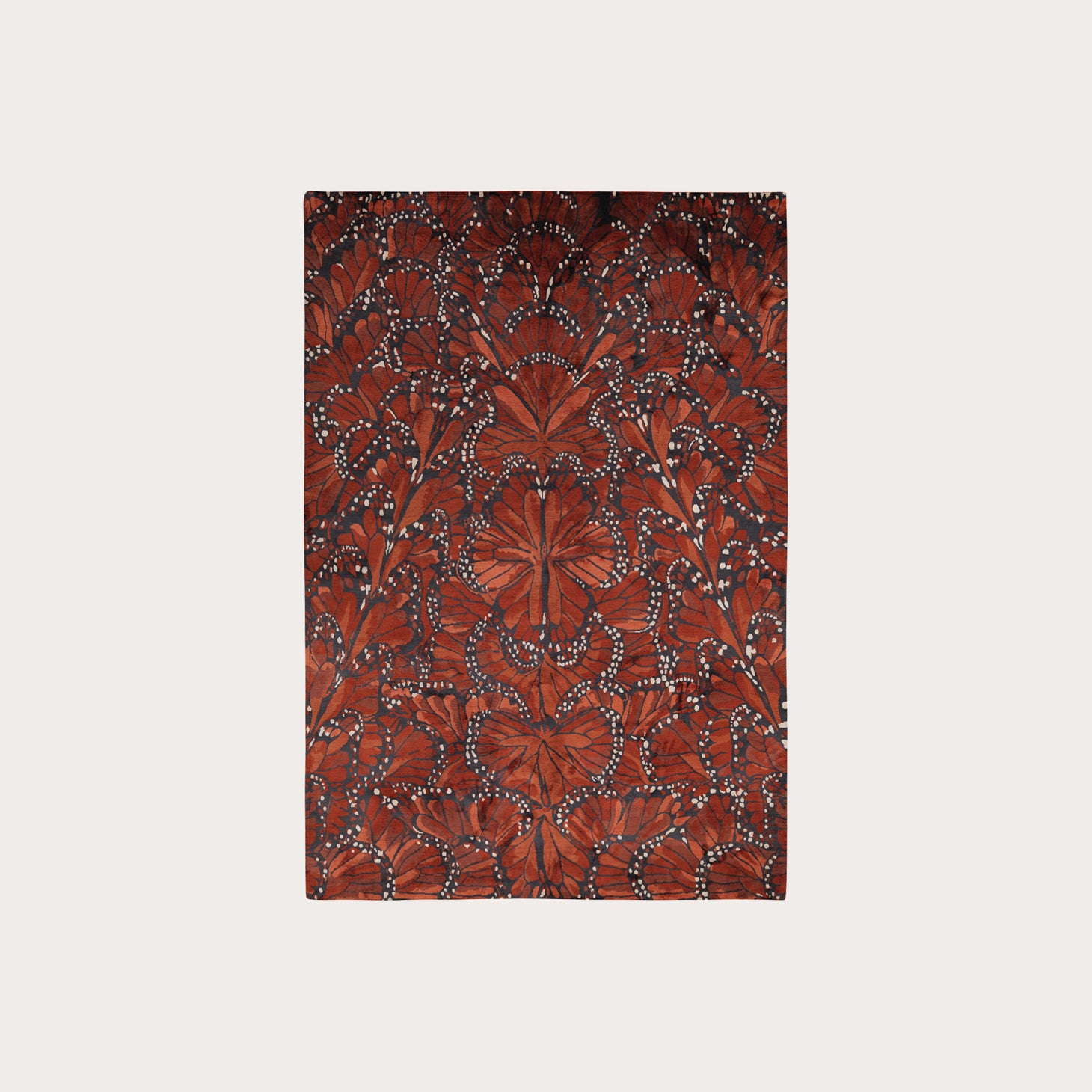 Monarch Fire Floor Coverings Alexander McQueen Designer Furniture Sku: 391-150-10734