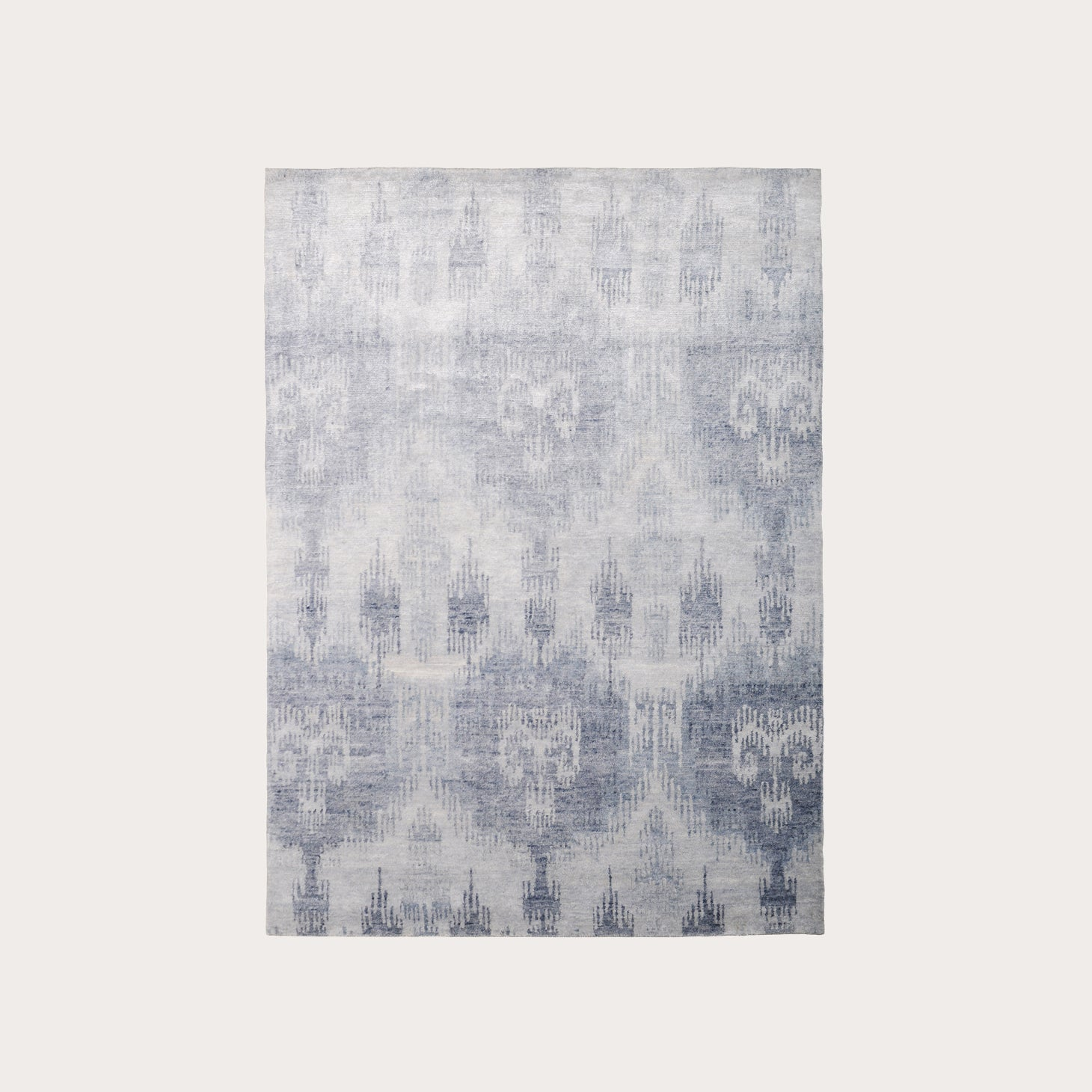 Bamboo Ikat Blue Floor Coverings The Rug Company Designer Furniture Sku: 391-150-11264