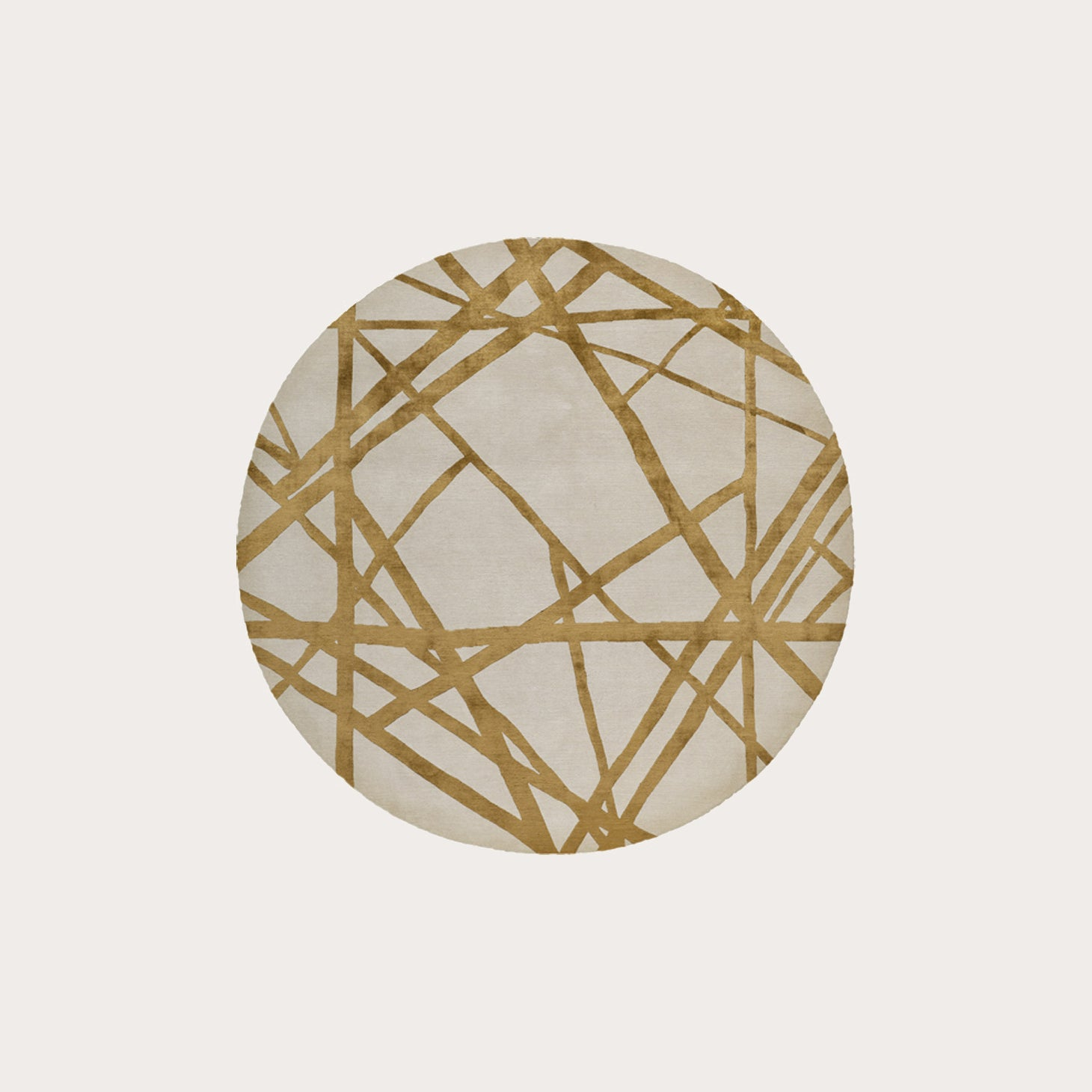 Channels Copper Round Rugs Kelly Wearstler Designer Furniture Sku: 391-150-11461
