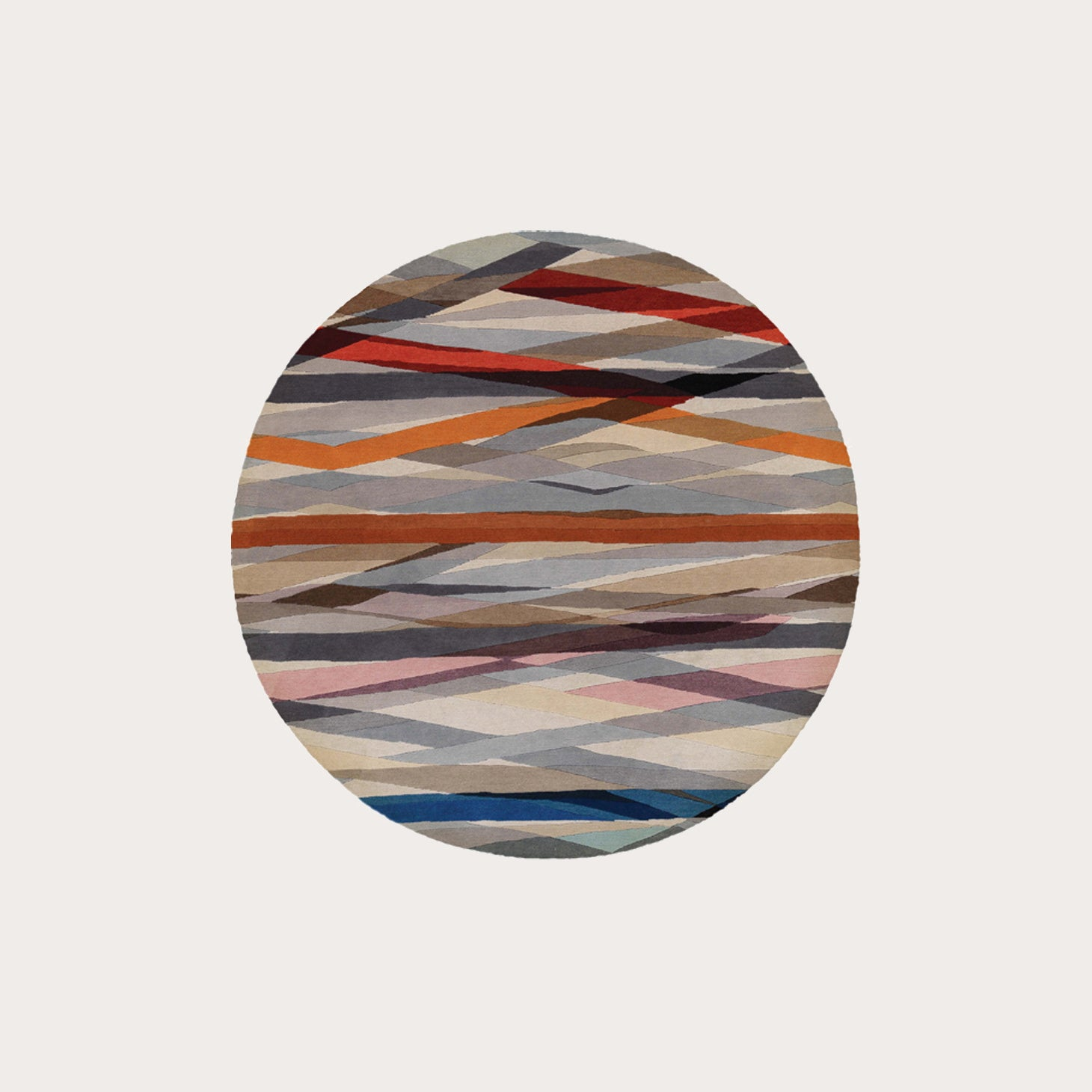 Carnival Round Rugs Paul Smith Designer Furniture Sku: 391-150-11462