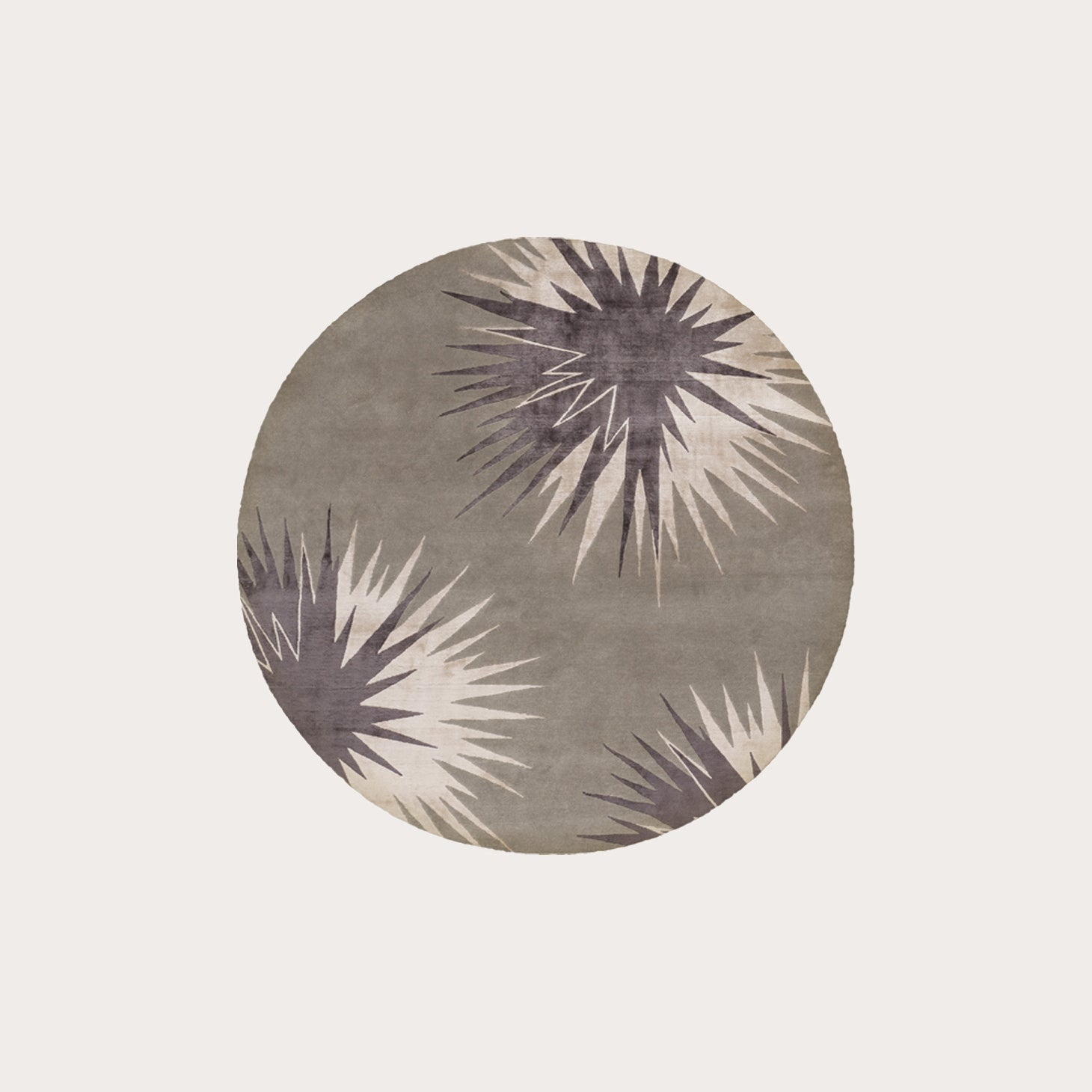 Thistle Pewter Round Rugs Vivienne Westwood Designer Furniture Sku: 391-150-11470