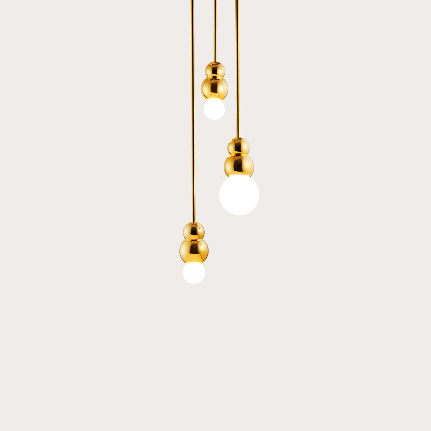 Ball Light 3 Ceiling Rose Lighting Michael Anastassiades Designer Furniture Sku: 717-100-10063