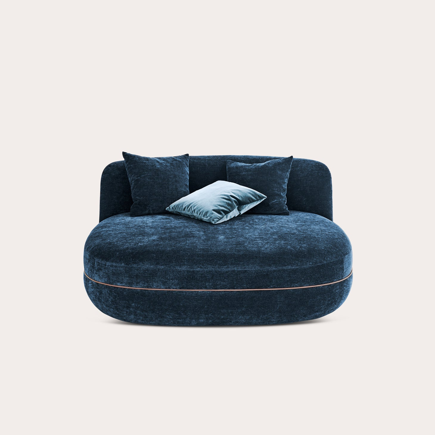 Miles Pouflongue Seating Sebastian Herkner Designer Furniture Sku: 758-240-10223