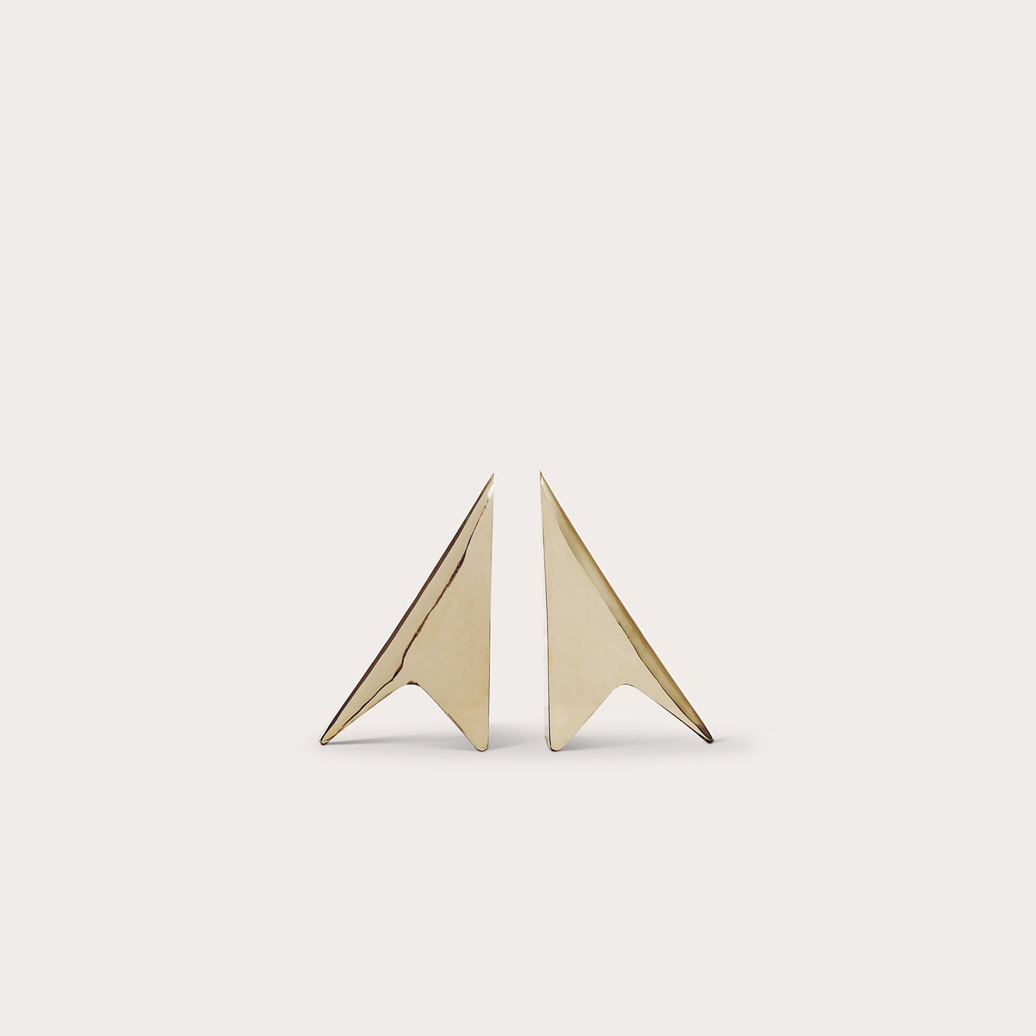 Bookends Triangular Accessories Carl Auböck Designer Furniture Sku: 772-100-10021