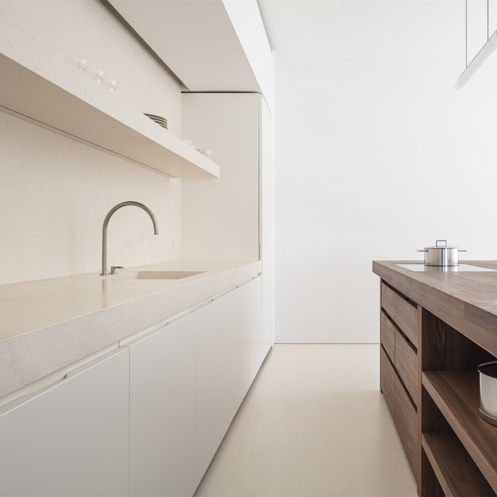 John Pawson Signature Kitchen Architectural John Pawson Designer Furniture Sku: 780-255-10004