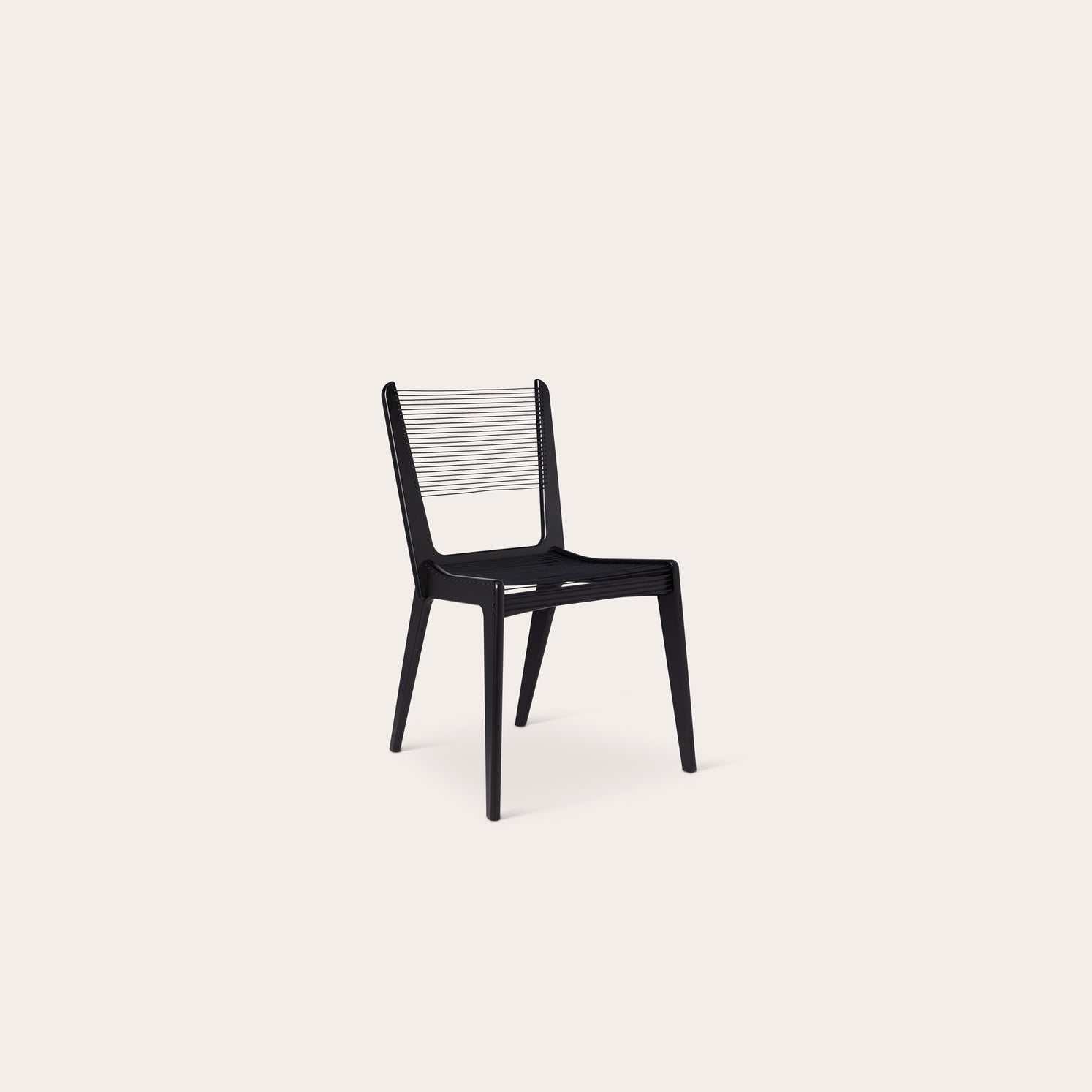 Cord Chair Dining Chairs Jacques Guillon Designer Furniture Sku: 828-120-10003