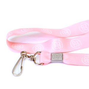 Brooklyn & Bailey BB Logo Lanyard