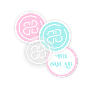 BB Squad Stickers Set