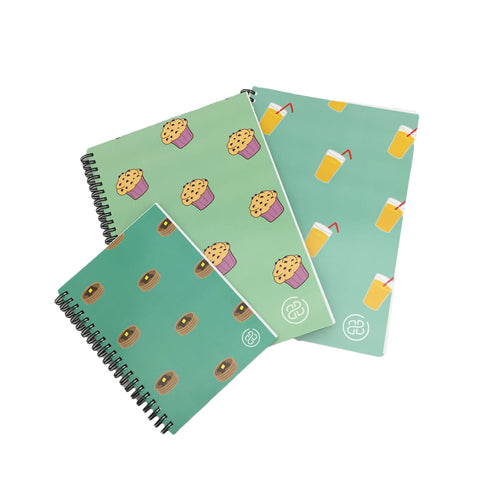 Brooklyn & Bailey Back To School Notebook Set (3)