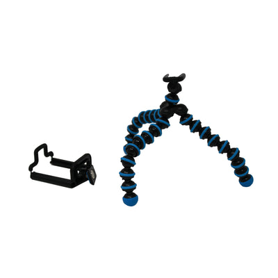 Flexible Mini Tripod and Tripod Mount Bundle