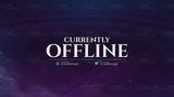 Twitch Currently Offline Image Overlay Stream