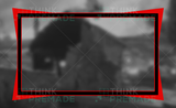 Twitch Webcam Overlay designed for Streamers in red