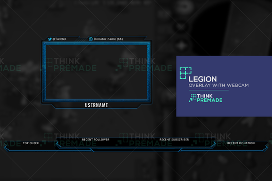 Legion Bundle Pack - ThinkPremade