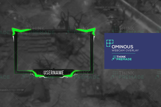 Ominous Webcam - Webcam Overlay - Stream Graphics - ThinkPremade