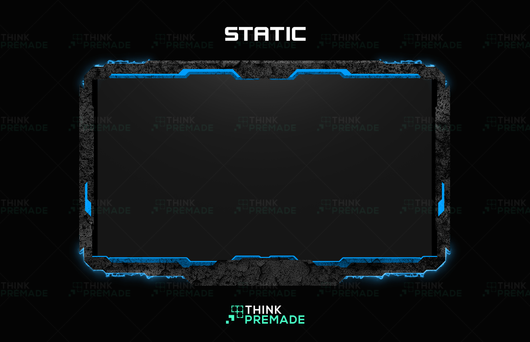 Haze Animated Webcam - Webcam Overlay - Stream Graphics - ThinkPremade