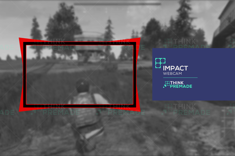 Impact Webcam - Webcam Overlay - Stream Graphics - ThinkPremade