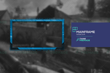 Twitch Webcam overlay technology themed in blue