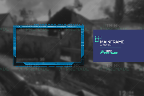 Mainframe Webcam - Webcam Overlay - Stream Graphics - ThinkPremade