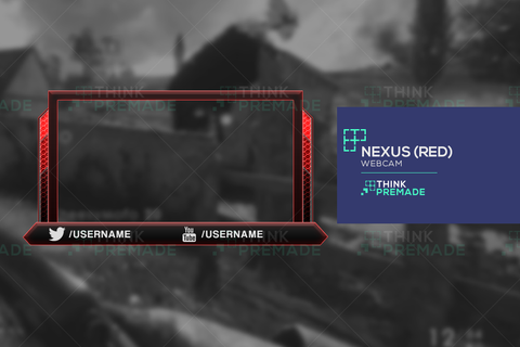 Nexus Webcam - Webcam Overlay - Stream Graphics - ThinkPremade