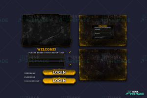 Void - Client Login Screen - Stream Graphics - ThinkPremade