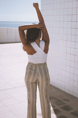 Vintage Striped Pants