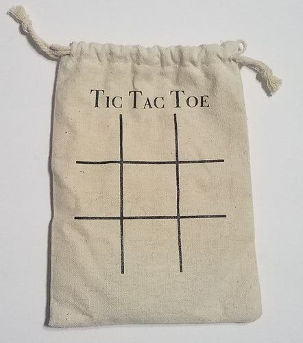 Tic Tac Toe Travel Pouch