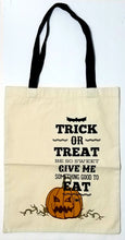 Personalized Halloween Bag - Trick or Treat