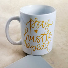 Pray Hustle Repeat Mug