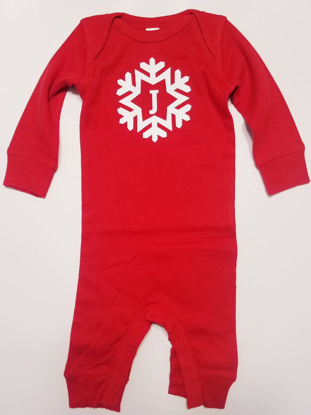 Red Snowflake Infant Bodysuit