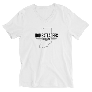 Homesteaders of Indiana Ladies V-Neck