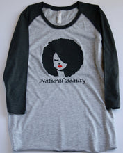 Women's Natural Beauty Baseball Tee