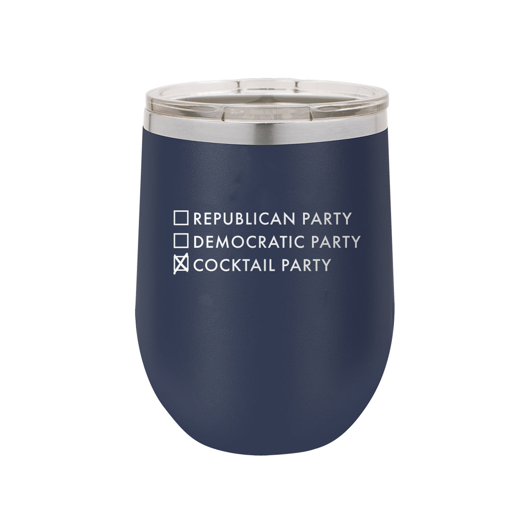 Cocktail Party Tumbler