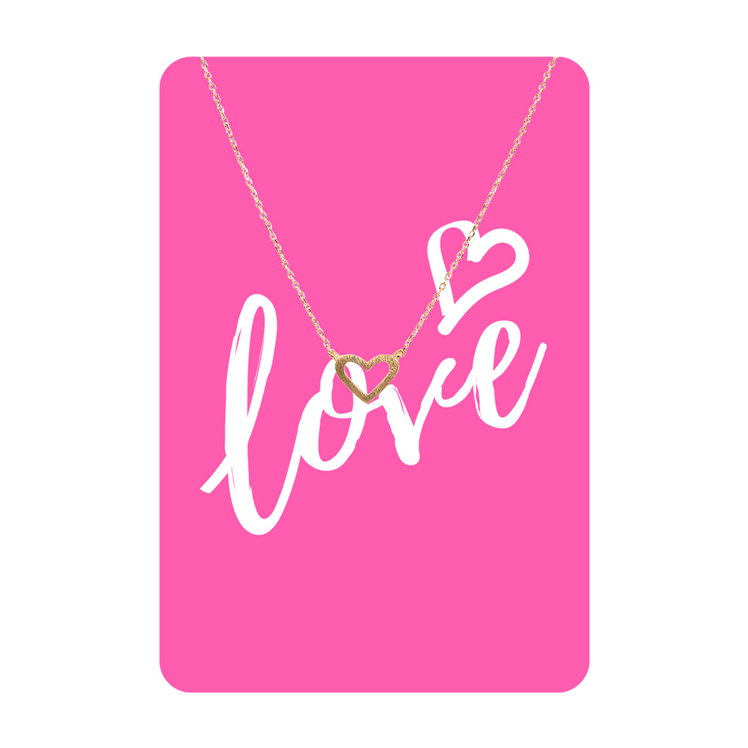 Love Necklace Card