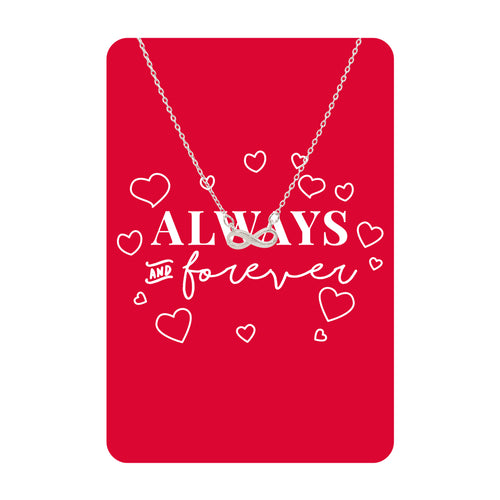 Always and Forever Necklace Card