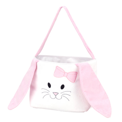 Bunny Easter Bucket - Pink