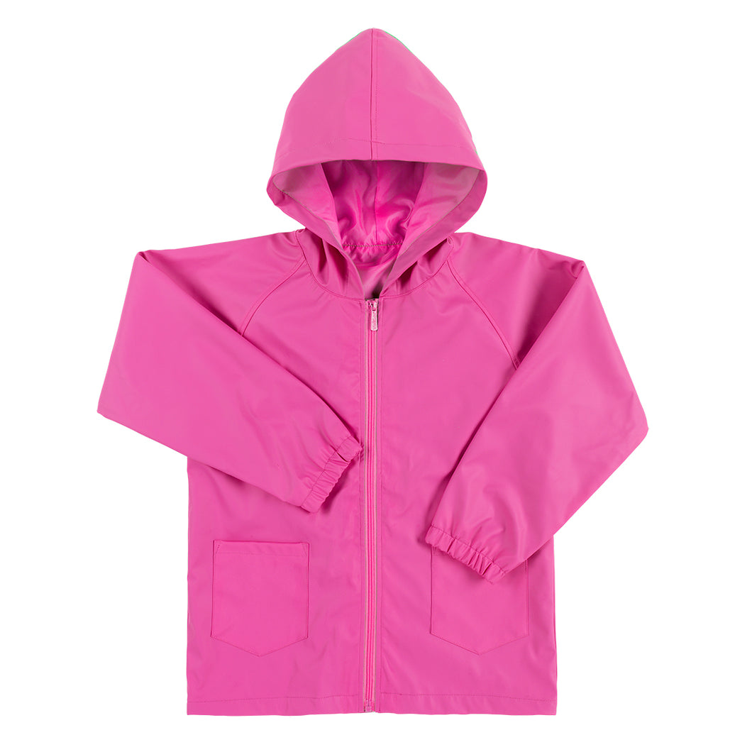 Kid's Rain Jacket - Hot Pink