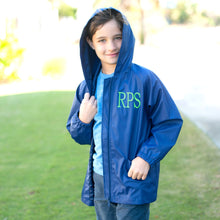 Kid's Rain Jacket - Navy