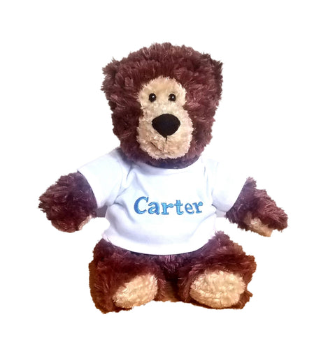 Personalized Plush Bear