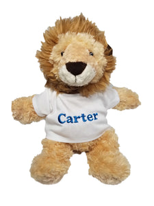 Personalized Plush Lion
