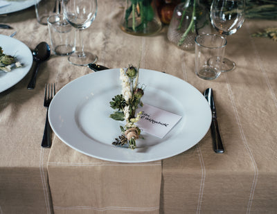 The Art of Napkin Folding: Then And Now