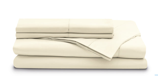Leonardo Plain Embroidered Sheet Set