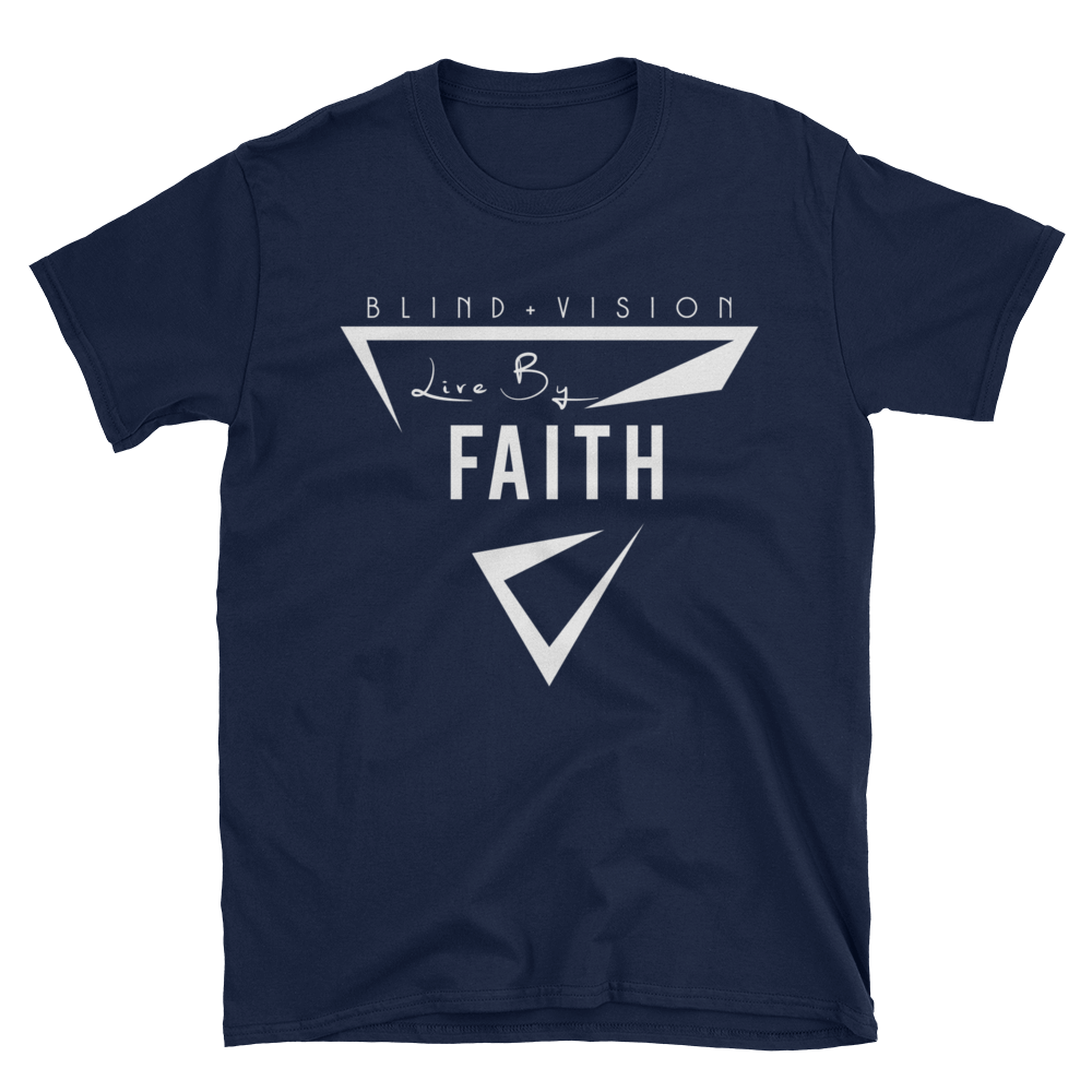 Live By Faith: 100% cotton Unisex T-Shirt