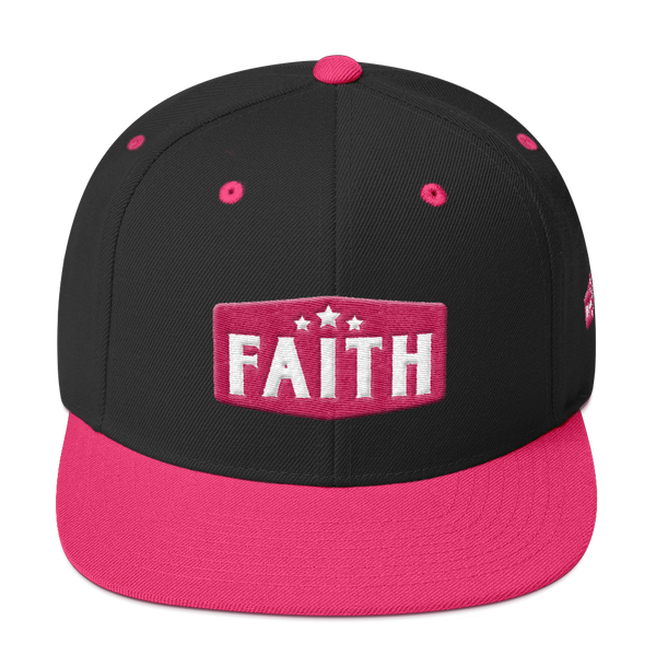 Faith :SnapBack Flamingo