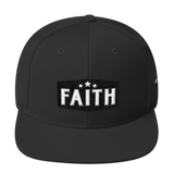 Faith Snapback Hat Black